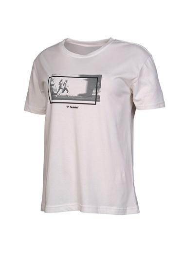 Hummel Kadın Tişört Seida 911030-9003 Beyaz